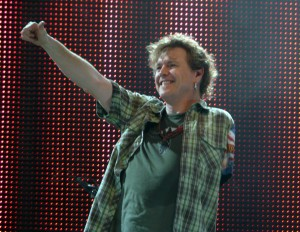 "Rick Allen says, ""You got this!"""