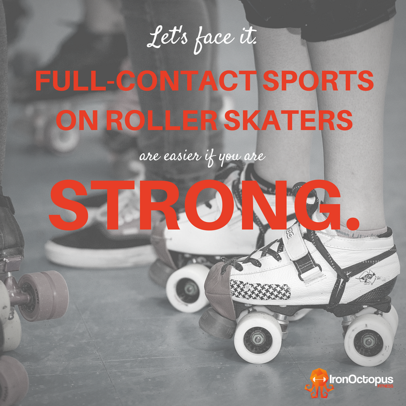 5 Strength Lessons for Roller Derby Athletes